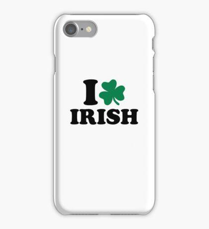 I love Irish shamrock iPhone Case/Skin