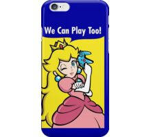 We can play too! iPhone Case/Skin