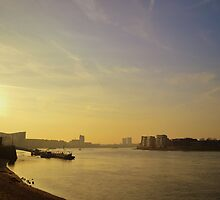 Thames Sunset by Ben Smith