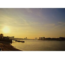 Thames Sunset Photographic Print