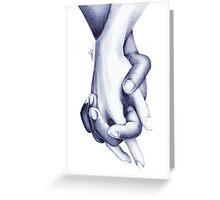 Forbidden love Greeting Card