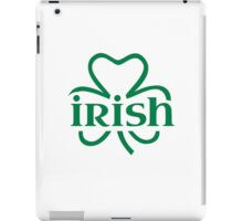 Irish shamrock iPad Case/Skin