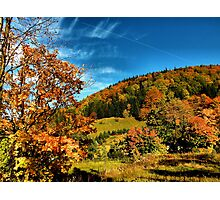 autumn in the Lower Silesia ... Photographic Print