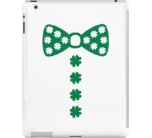 Irish bow tie tuxedo iPad Case/Skin