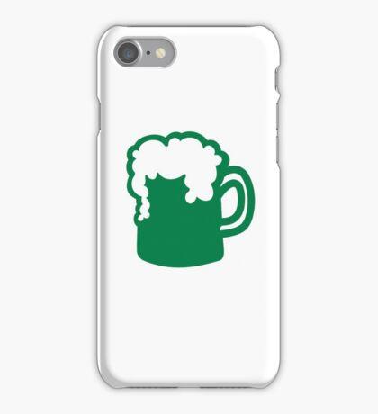 Green irish beer iPhone Case/Skin
