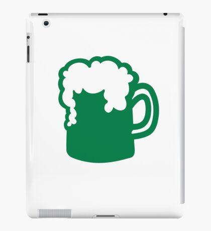 Green irish beer iPad Case/Skin