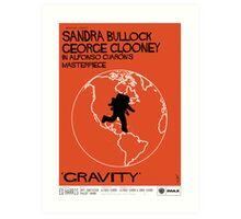 Gravity/Vertigo Poster Mash-up Art Print