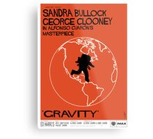 Gravity/Vertigo Poster Mash-up Metal Print