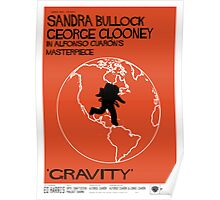Gravity/Vertigo Poster Mash-up Poster