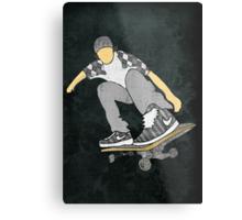 Skateboard 11 Metal Print