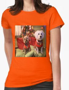 Dreo at Christmas 2015 Womens Fitted T-Shirt