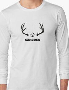 True Detective - Carcosa Antlers - Black Long Sleeve T-Shirt