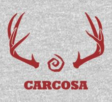 True Detective - Carcosa Antlers - Red by Prophecyrob