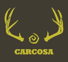 True Detective - Carcosa Antlers - Yellow by Prophecyrob