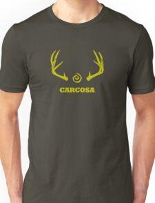 True Detective - Carcosa Antlers - Yellow Unisex T-Shirt
