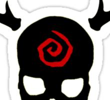 True Detective - Carcosa Gas Mask - Black Sticker