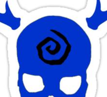 True Detective - Carcosa Gas Mask - Blue Sticker