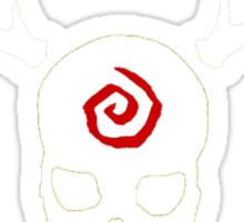 True Detective - Carcosa Gas Mask - White Sticker