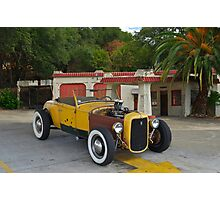 1930 Ford 'Original Hot Rod' Roadster Photographic Print