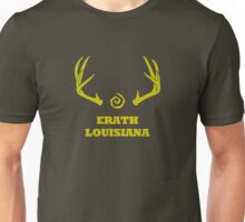 True Detective - Erath Antlers - Yellow Unisex T-Shirt