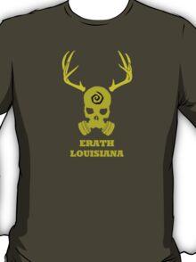 True Detective - Erath Gas Mask - Yellow T-Shirt