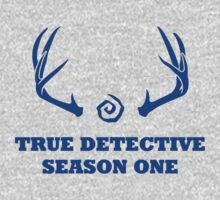 True Detective - Season One Antlers - Blue by Prophecyrob