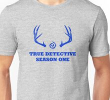 True Detective - Season One Antlers - Blue Unisex T-Shirt