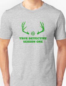 True Detective - Season One Antlers - Green T-Shirt
