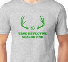True Detective - Season One Antlers - Green Unisex T-Shirt