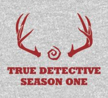 True Detective - Season One Antlers - Red by Prophecyrob