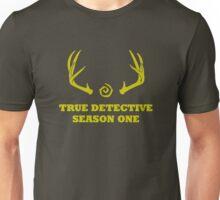 True Detective - Season One Antlers - Yellow Unisex T-Shirt