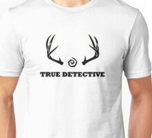 True Detective - Antlers - Black Unisex T-Shirt