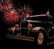 31 Five Window Coupe on the Fourth of July by ChasSinklier