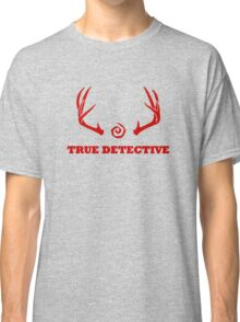 True Detective - Antlers - Red Classic T-Shirt