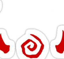 True Detective - Antlers - Red Sticker