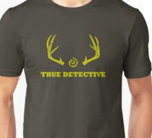 True Detective - Antlers - Yellow Unisex T-Shirt