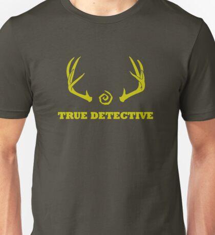 True Detective - Antlers - Yellow Unisex T-Shirt