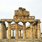 Temple Of Hera - Paestum by Francis Drake
