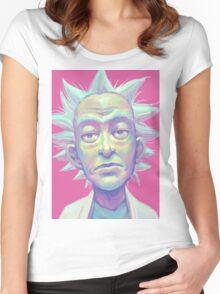 Rickspressionism Women's Fitted Scoop T-Shirt