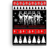 GALAXY CHRISTMAS STAR WARS Canvas Print