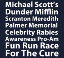 Michael Scott's Fun Run (small logo) by talkpiece