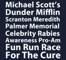 Michael Scott's Fun Run (small logo) Kids Clothes