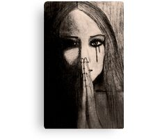 The Silent Cry Canvas Print