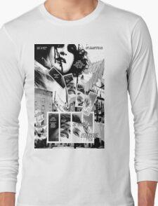 Faith Fallon Graphic Novel Page © Steven Pennella Long Sleeve T-Shirt