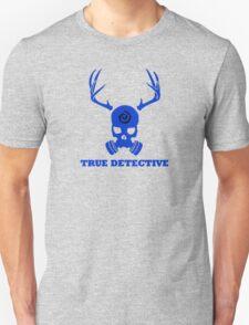 True Detective - Gas Mask - Blue T-Shirt