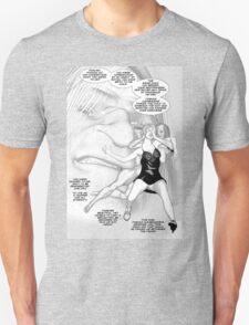 Faith Fallon Graphic Novel Page © Steven Pennella T-Shirt