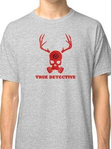True Detective - Gas Mask - Red Classic T-Shirt