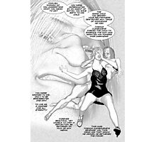 Faith Fallon Graphic Novel Page © Steven Pennella Photographic Print