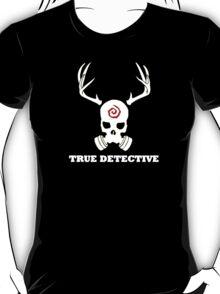 True Detective - Gas Mask - White T-Shirt
