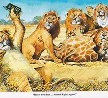 Animal rights by RoseRigden